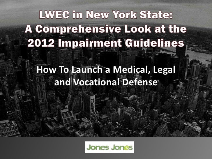 How To Launch a Medical, Legal   and Vocational Defense