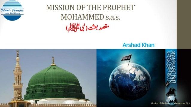 Mission of Prophet Mohammed sas