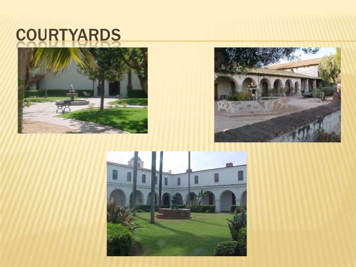 Courtyards<br />