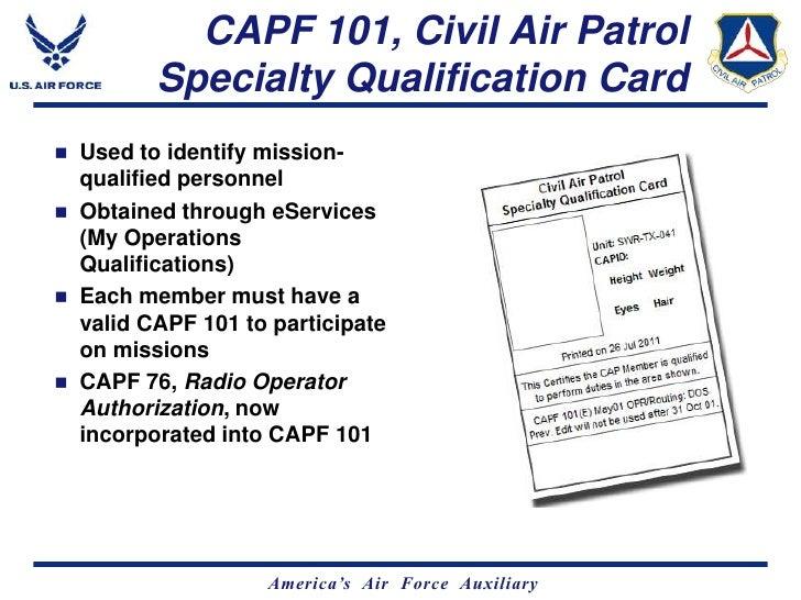 civil air patrol letterhead