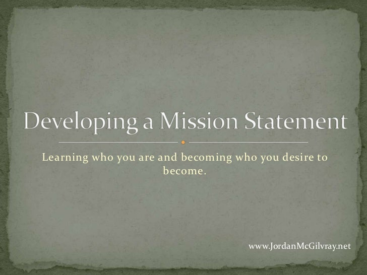 Learning who you are and becoming who you desire to                      become.                                    www.Jo...