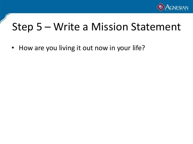 how to develop a good mission statement