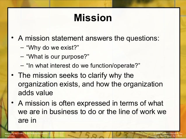 Mission and vision statement of airtel