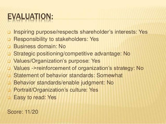 Mission statement: Verizon VS AT&T Slide 3
