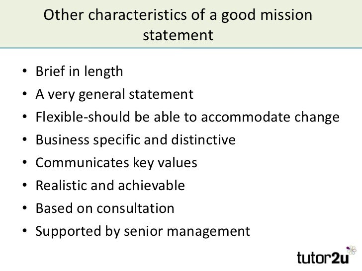 Most popular mission statements