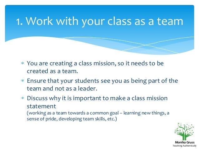 benefits of mission statement