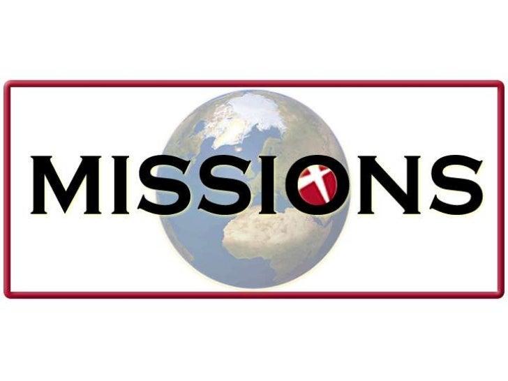 Mission sunday 5 22-2011