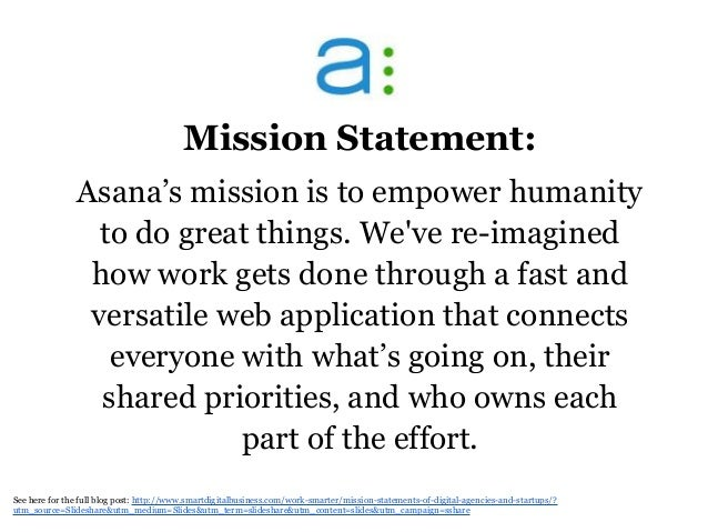 Powerful mission statements