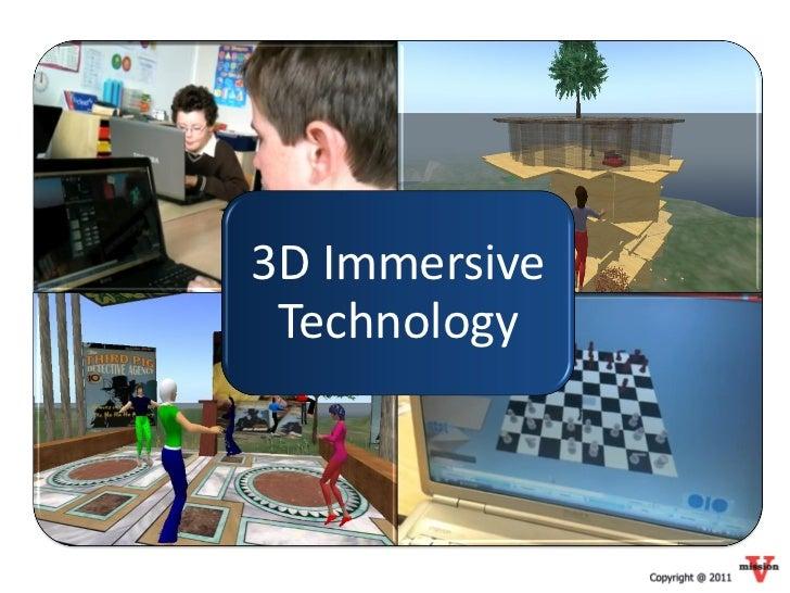 3D Immersive Technology