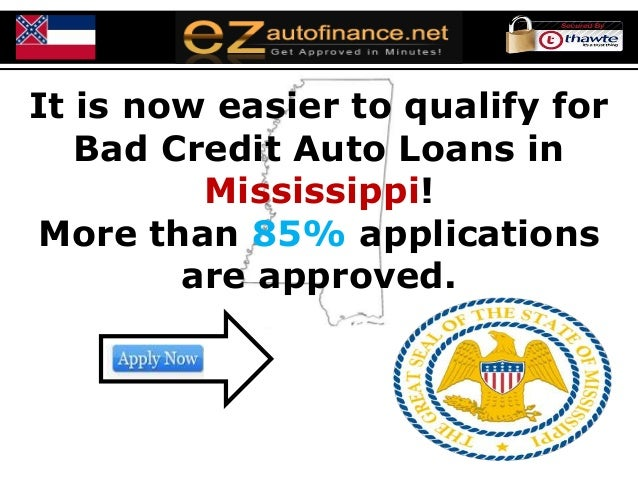 mississippi auto loans better your bad credit score even without do. Black Bedroom Furniture Sets. Home Design Ideas