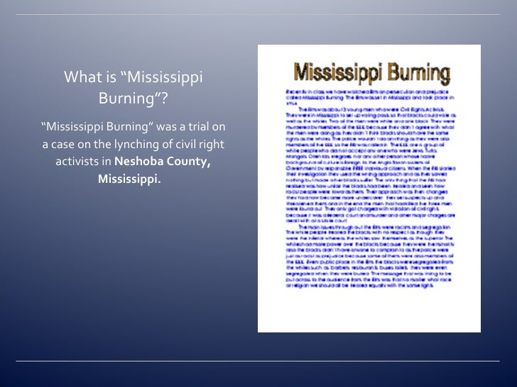 mississippi burning mississippi burning 2