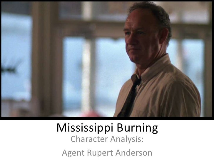 mississippi burning main characters