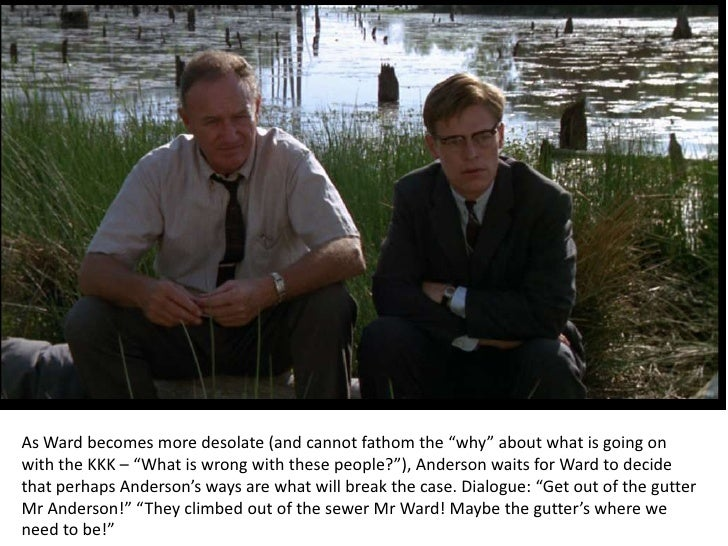 analysis of mississippi burning Mississippi burning review – incandescent civil rights thriller (alan parker,  the other, rupert anderson, a former mississippi sheriff.