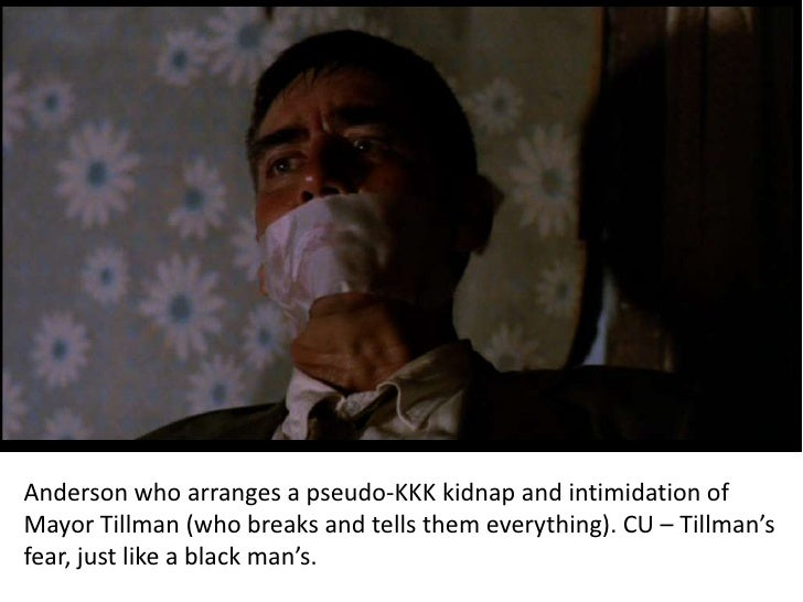 Mississippi Burning Character Analysis Agent Anderson