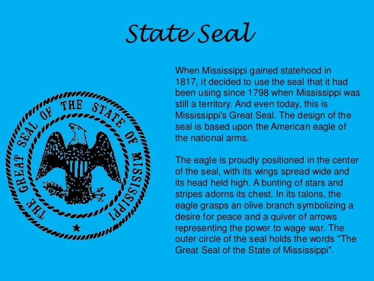 an essay on the state of mississippi Mississippi (/ ˌ m ɪ s ɪ ˈ s ɪ p i / ( listen)) is a state located in the southeastern region of the united states mississippi is the 32nd most extensive and.