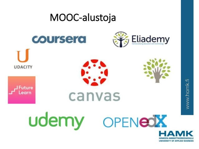 MOOC-alustoja