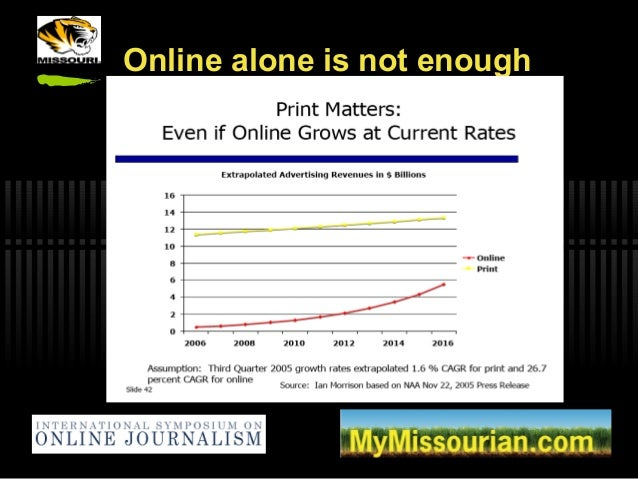 Online alone is not enough
