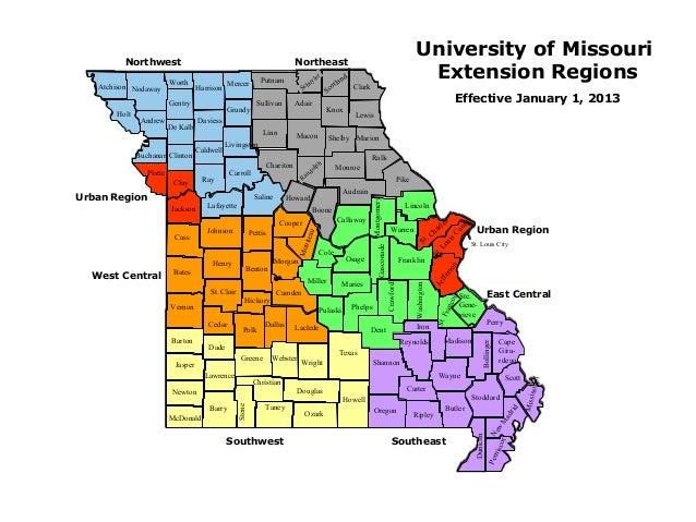 University of Missouri         Northwest                                                          Northeast               ...