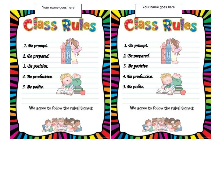 obeying school rules Rules & regulations  to help students form a good habit and obey the law  follow the school motto protect school's reputation and respect teachers and.