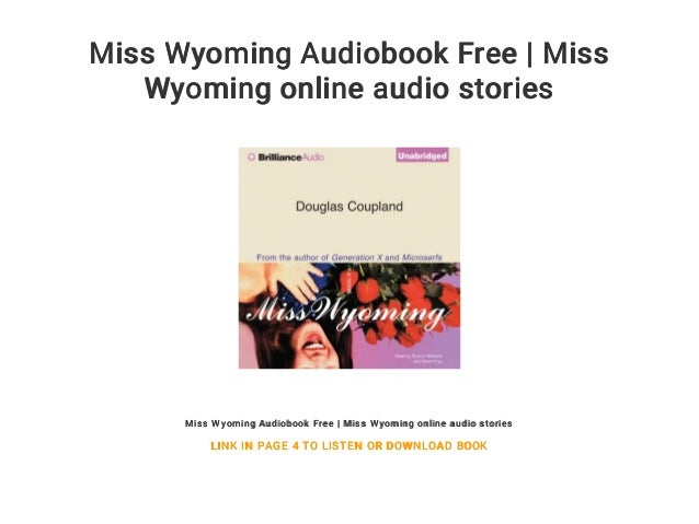 miss wyoming douglas coupland