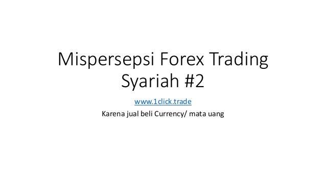 apa itu trading forex syariah