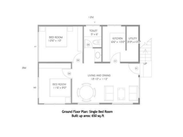 Single Bedroom House Plans 650 Square Feet – Home Plans Ideas