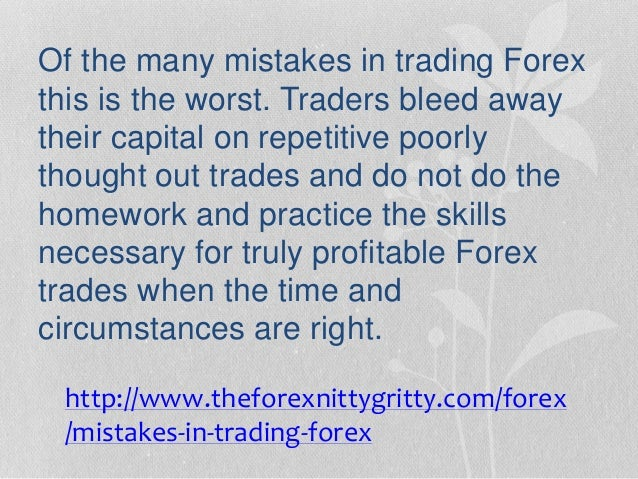 Best and worst times to trade forex
