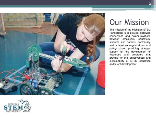 MI STEM Partnership -  2016 Annual Report Slide 2
