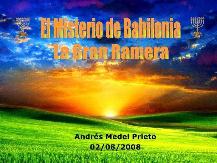 Andrés Medel Prieto    02/08/2008