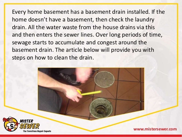 1. Www.mistersewer.com; 2. Every Home Basement ...