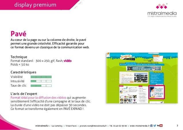 Mistral Media / Les formats de l'e-pub : panorama et efficacité Slide 3