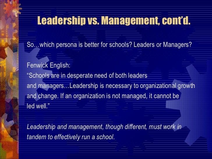 Ch 1 The Leadership Challenge by Fenwick W. English, PhD