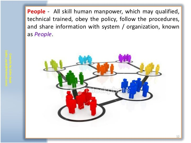People - All skill human manpower, which may qualified,                           technical trained, obey the policy, foll...