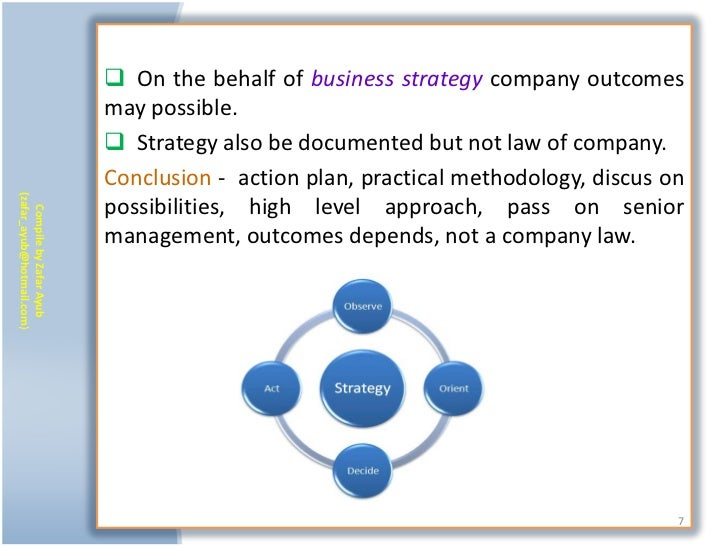 On the behalf of business strategy company outcomes                           may possible.                            ...