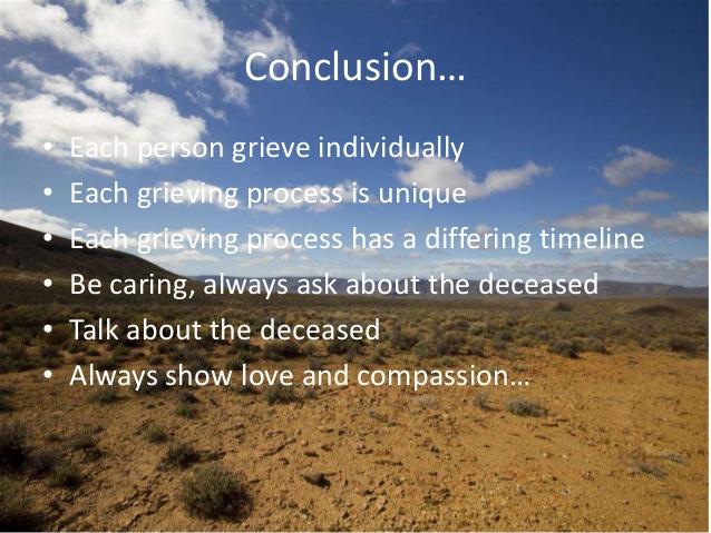 Grieving Process Psychology 1