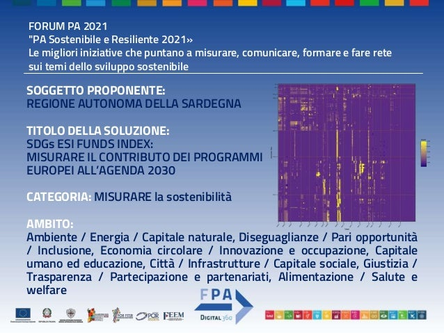 MISURARE - Premio PA - Template_PPT - SDGs ESI FUNDS INDEX - RAS-FEEM Slide 2