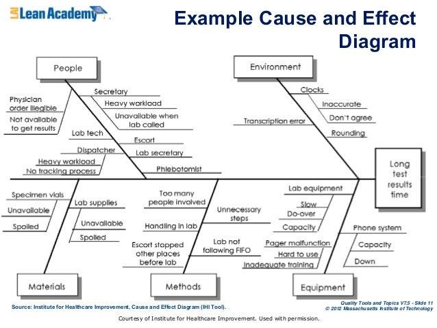 11 - Fishbone Diagram In Healthcare