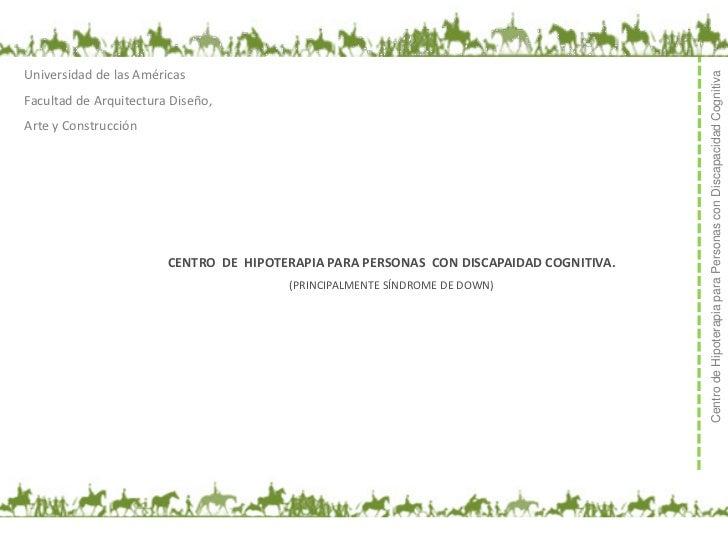 Universidad de las Américas                                                                                         Centro...