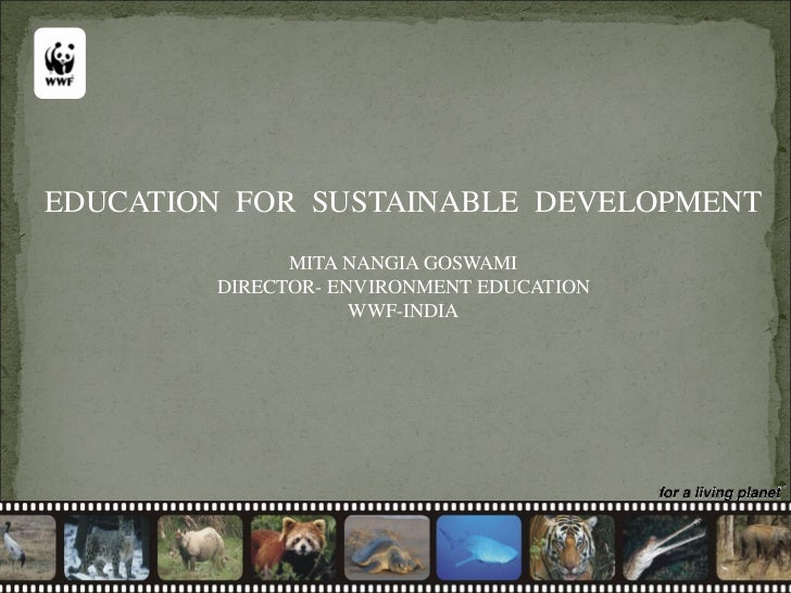 environmental education for sustainable development pdf