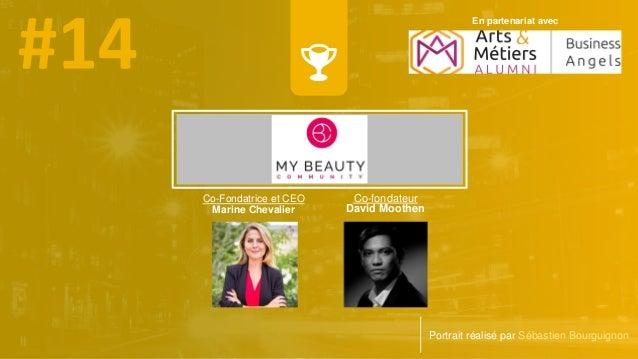 Co-Fondatrice et CEO Marine Chevalier Portrait réalisé par Sébastien Bourguignon Co-fondateur David Moothen En partenariat...