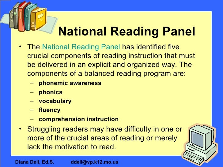 National Reading Panel | NICHD - Eunice Kennedy Shriver ...