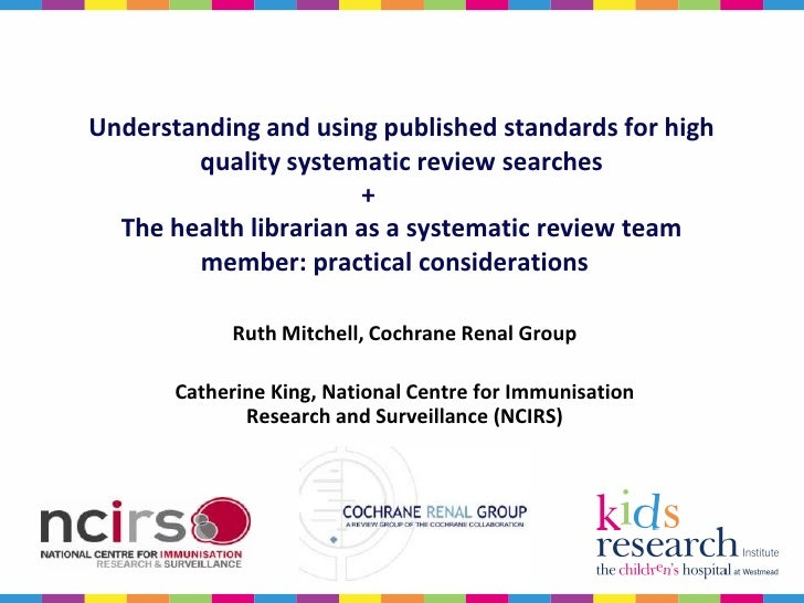 how to begin a systematic review