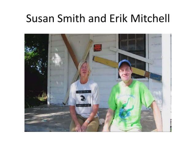 Susan Smith and Erik Mitchell