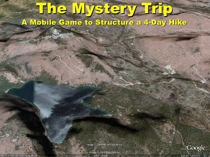 The Mystery Trip A Mobile Game to Structure a 4-Day Hike