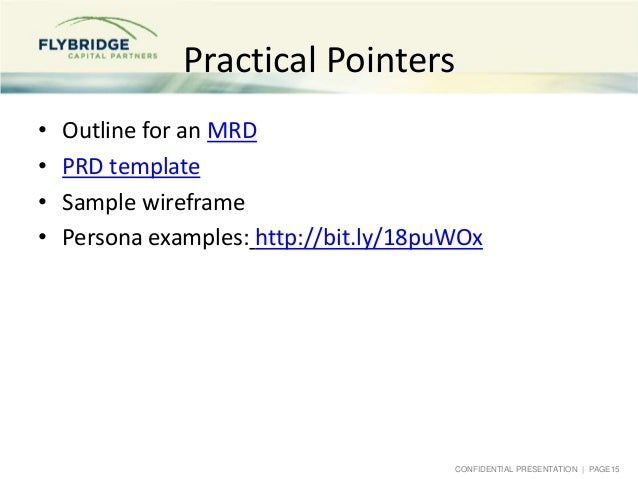 mit class on product management 10-22-2013, Presentation templates