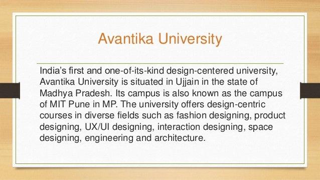 Mit College Of Design Avantika University