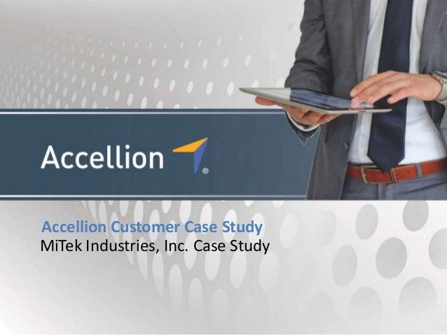 Accellion Customer Case StudyMiTek Industries, Inc. Case Study