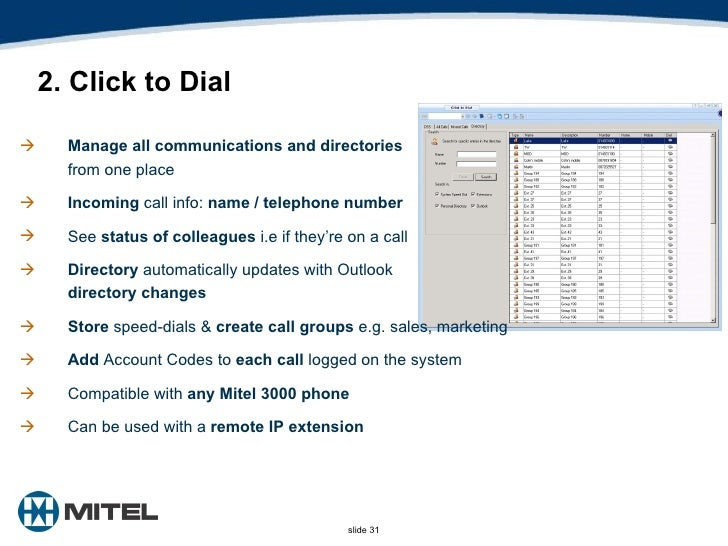 Mitel 3000 Lunch Learn
