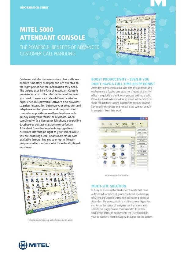 Inter-tel attendant console 3. 1 user guide mitel edocs.