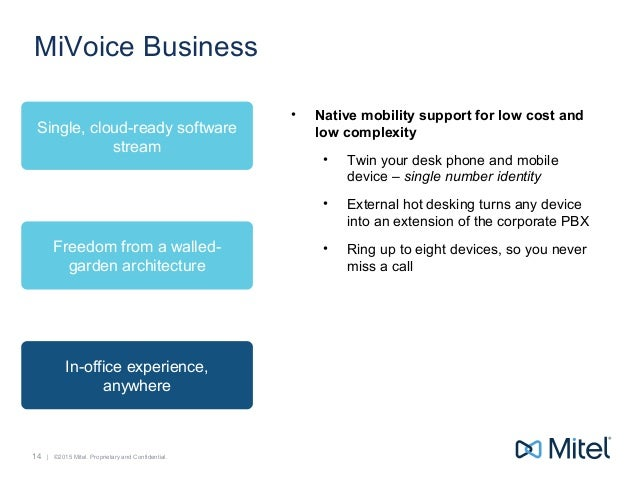 Mitel MiVoice Business - Best Phone System for Enterprise